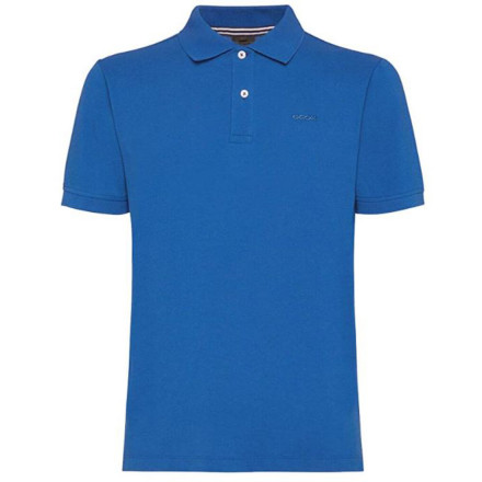 POLO GEOX M SUSTAINABLE BLUE