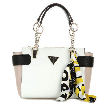 Bolso Guess Analise Society White Multi