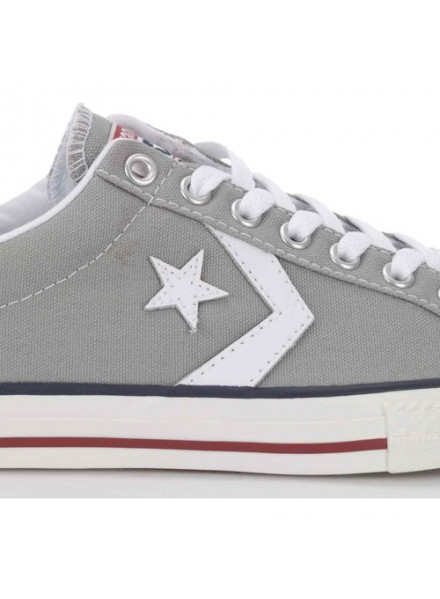 Zapatillas Converse All Star Player N.Junior Grises