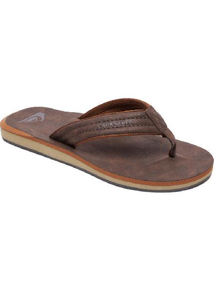 CHANCLA QUIKSILVER CARVER NUBUCK BROWN