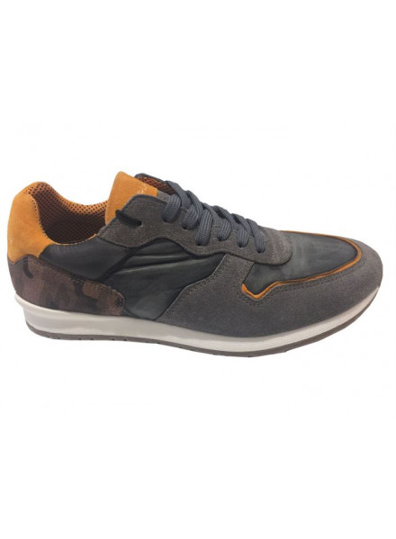 Zapatillas Replay Grey Black
