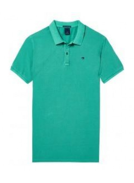 Polo Pique Scotch & Soda Garment-D Jade