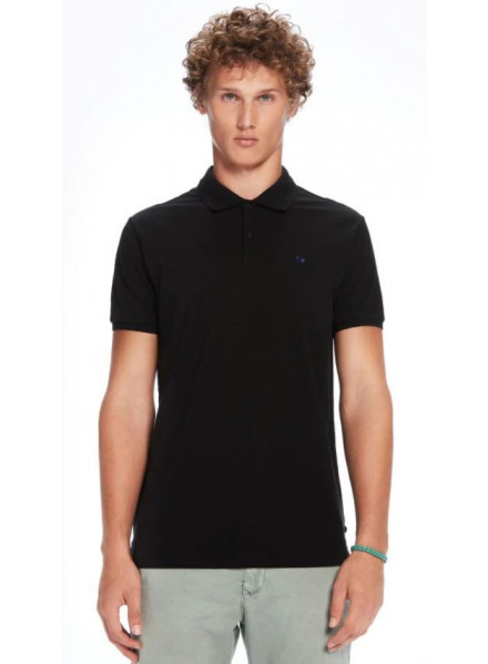 Polo Pique Scotch & Soda Classic C Black