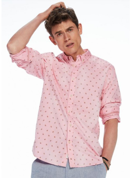 Camisa Scotch & Soda Classic Oxfor