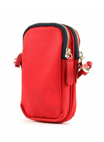 Bandolera Tommy Hilfiger Poppy Mini Tommy Red
