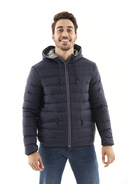 Chaqueta Armani Exchange Navy/Grey Hombre