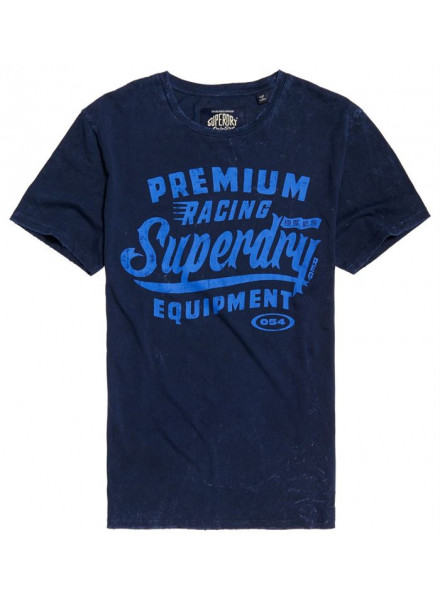 Camiseta Superdry Premium Equipment Overdyed P