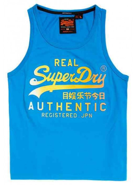 Camiseta Superdry Logo Authentic Fa Nu Turquio