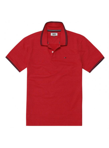 Polo Tommy Hilfiger Essential Detai Racing Red