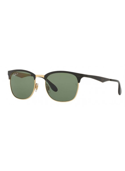 Gafas Rayban Rb3538 Top Shiny Black On Gold