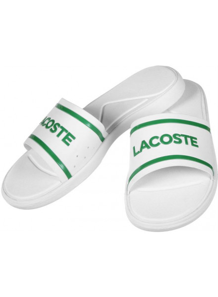 Chanclas Lacoste Slide 118 2 White/Gr