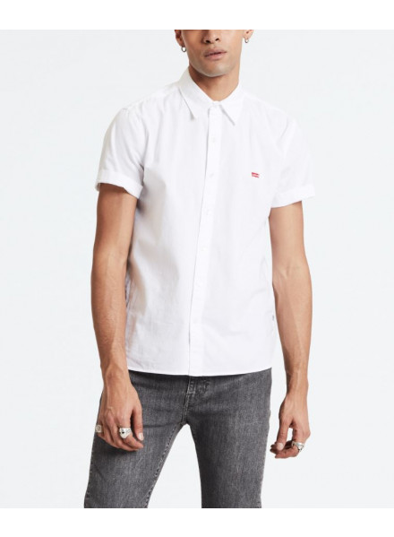 Camisa Levis Battery Housemark Blanco
