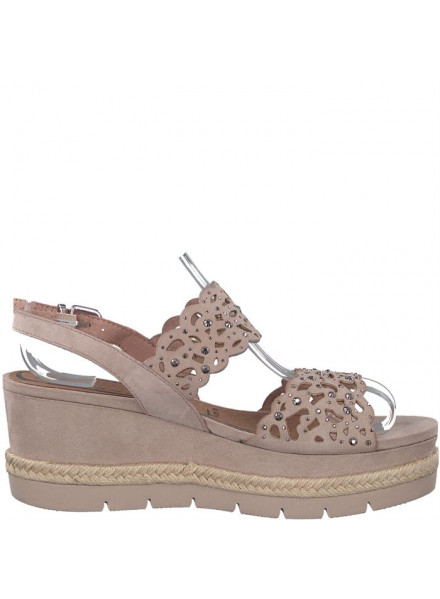 Sandalias Tamaris Plataforma Doble B Old Rose