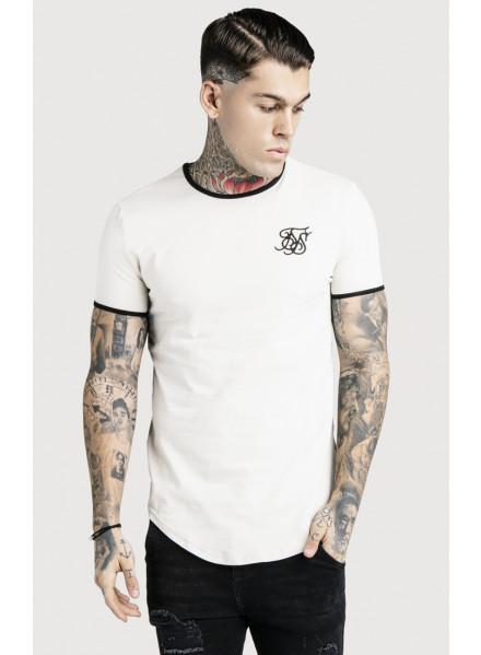 Camiseta Siksilk Ringer Gym