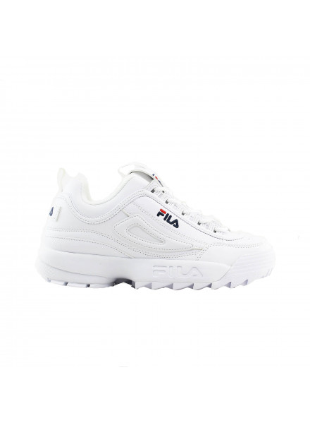 ZAPATILLA FILA  DISRUPTOR LOW WMN WHITE 06