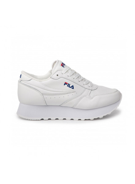 Zapatillas Fila Orbit Zeppa Low Blanca