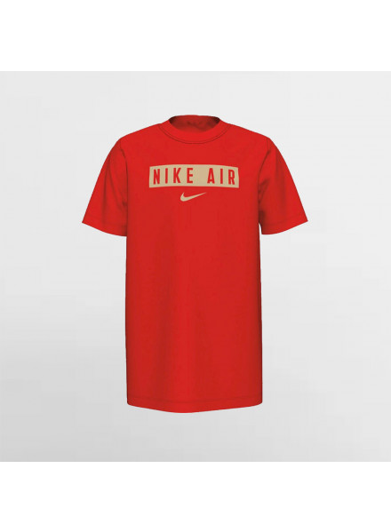 Camiseta Nike Air Box Rojo