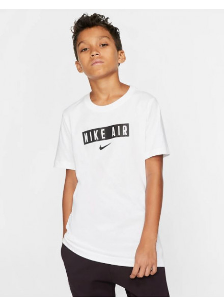 Camiseta Nike Air Box Blanco  Ne