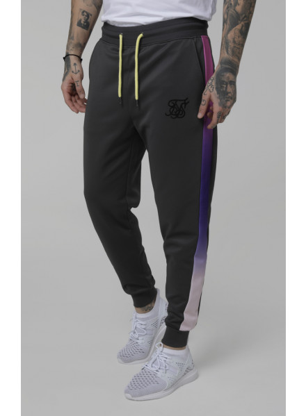 Pantalones Siksilk Poly Cuffed Fade Panel