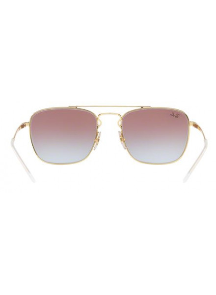 Gafas Rayban Gold Top On Bordeaux RB3588