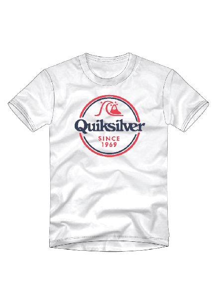 Camiseta Quiksilver Colors In Stereo