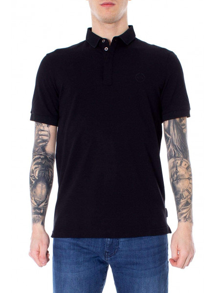 POLO ARMANI EXCHANGE NEGRO