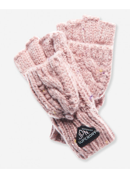 GUANTES SUPERDRY GRACIE CABLE