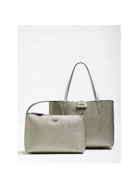 Bolso Guess Grey Multi/Pewter