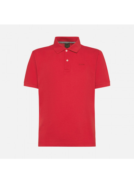 POLO GEOX M SUSTAINABLE RED