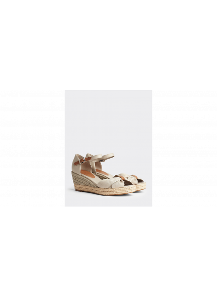 ZAPATO TOMMY HILFIGER OPEN TOE MID WEDGE