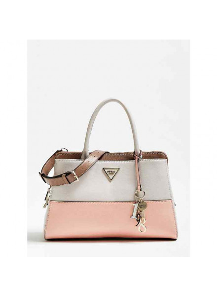 Bolso Guess Maddy Girlfriend Satchel  Stone Multi