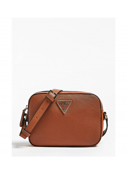 Bolso Guess Carys Crossbody Top Zip Cognakc