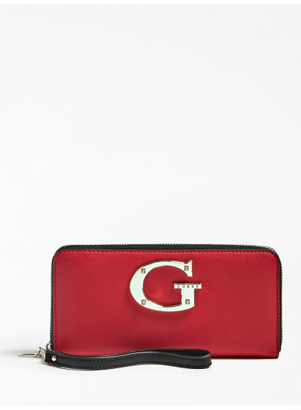 Billetero Guess Camila Slg Large Red Multi