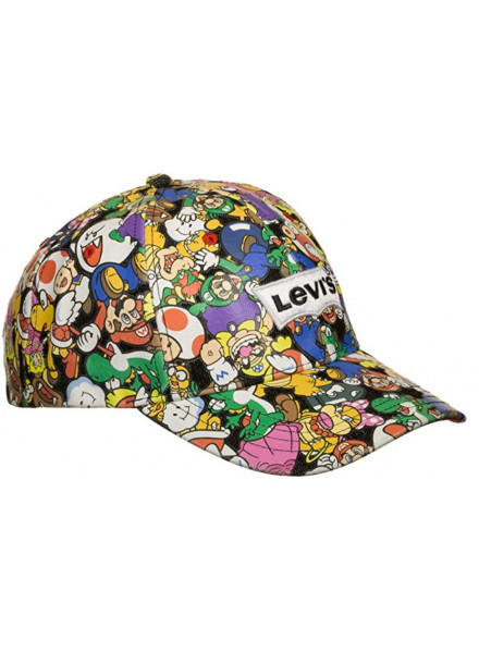GORRA LEVIS NINTENDO ALL OVER PRINT
