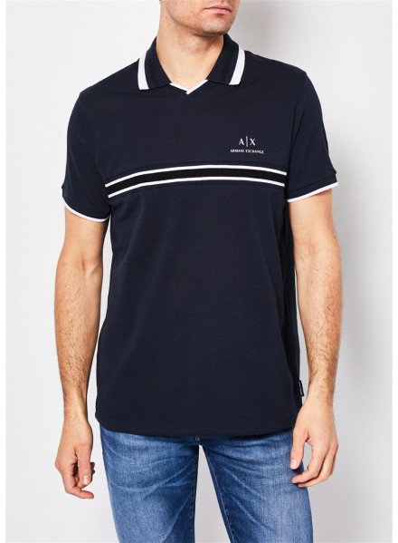 POLO ARMANI EXCHANGE NAVY