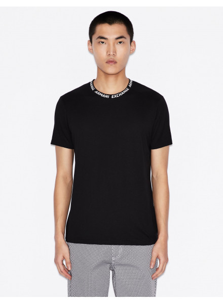 CAMISETA ARMANI EXCHANGE NEGRA