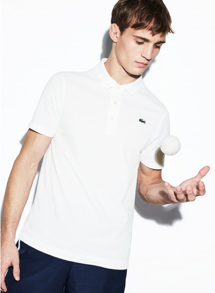 POLO LACOSTE COLOR BLANCO