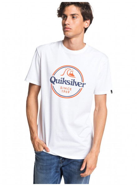 Camiseta Quiksilver Words Remain