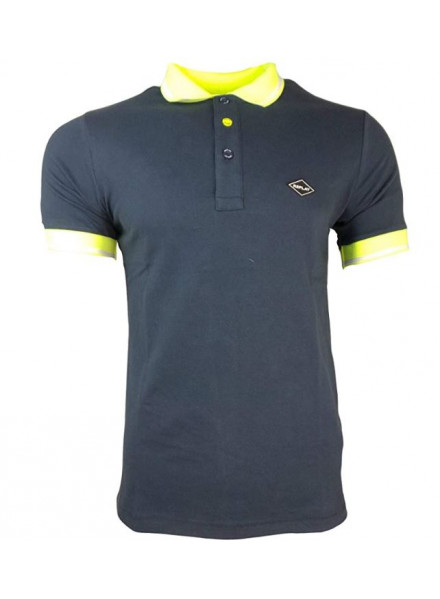 POLO REPLAY STRETCH BLUE XL