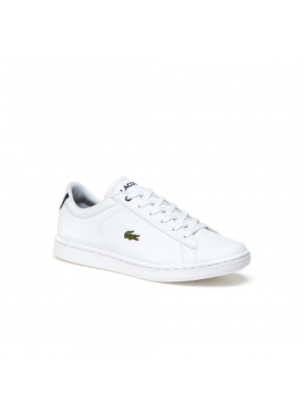 ZAPATOS CARNABY EVO BL 1 LACOSTE WHITE/NAVY T36