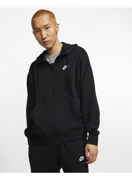 SUDADERA NIKE CLUB MEN'S FULL-ZIP