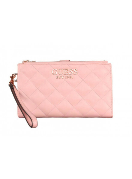 MONEDERO GUESS MELISE SLG DBL