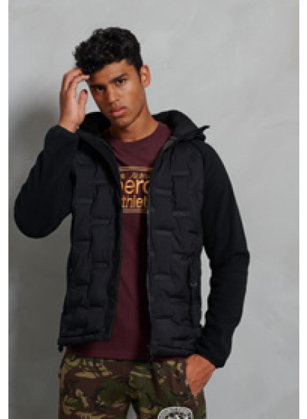 CHAQUETA SUPERDRY SONIC CITY HYBRID ZIP