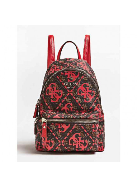 Mochila Guess Leeza Red Multi