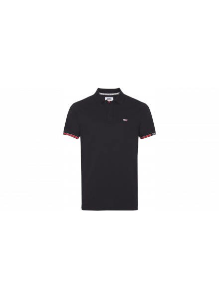 POLO TOMMY HILFIGER NEGRO