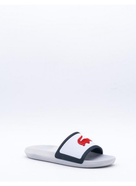 CHANCLA LACOSTE CROCO SLIDE TRI3