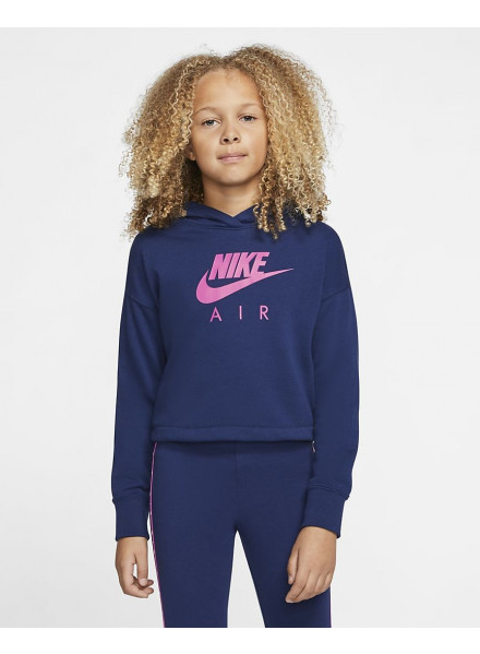 SUDADERA NIKE AIR BIG KIDS CROPPED