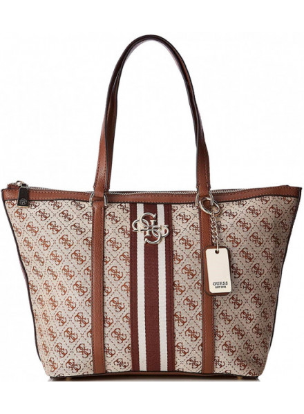 Bolso Guess Guess Vintage Tote Brown