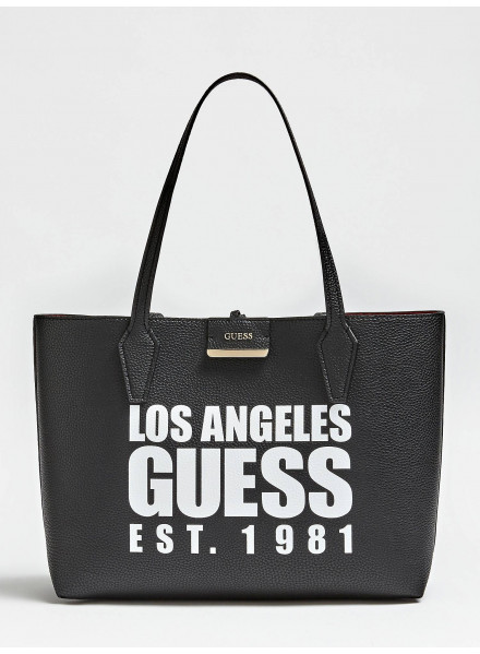 Bolso Guess Bobbi Inside Out Black/Red