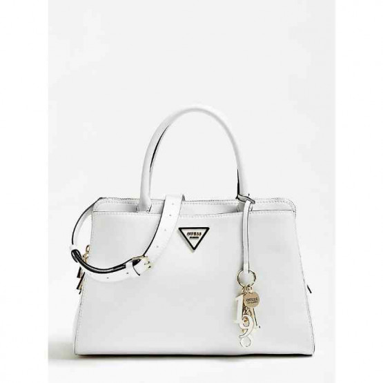 Bolso Guess Maddy Girlfrien Satchel  White